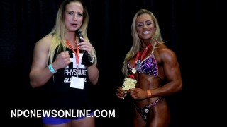 Bianca Vivaqua – NPC Muscle Contest Challenge 2017 Women's Physique Winner
