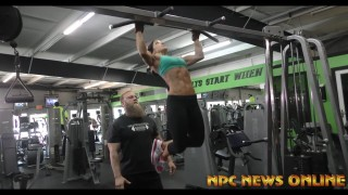 Samantha Natole Feenburg Workout