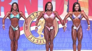 Arnold Classic 2017 – Figure Prejudging Highlights