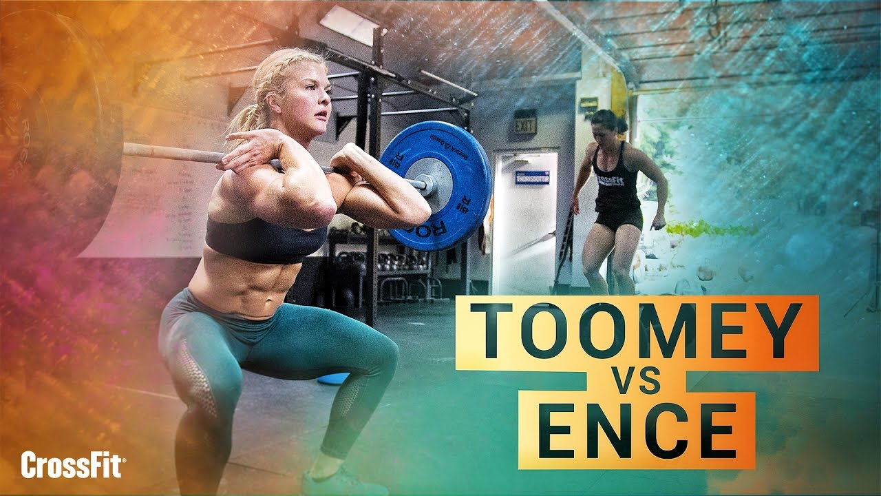 Tia Clair-Toomey & Brooke Ence – CrossFit Workout
