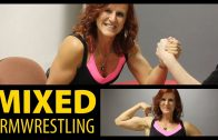 Jeannette Krupp vs Mike – Mixed ArmWrestling