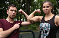 Julia Vins – Powerlifting Workout