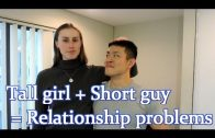 Tall Woman Plays Basketball With Shorter Guys