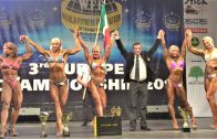 Evgeniya Denisova – NABBA Worlds 2017 Toned Figure Overall Winner