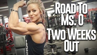 Danielle Reardon – Shoulders And Biceps Workout / Road To Ms. Olympia 2017