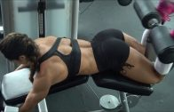 Stephanie Sanzo – Chest Workout