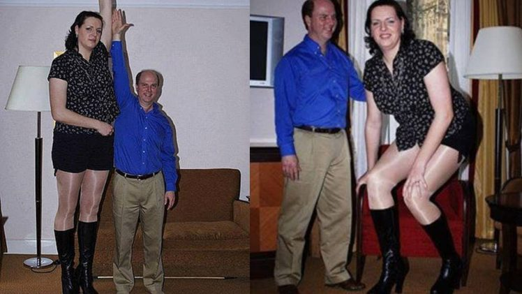 "Caroline Welz (206cm / 6'9"") – The Tallest Woman In Germany"