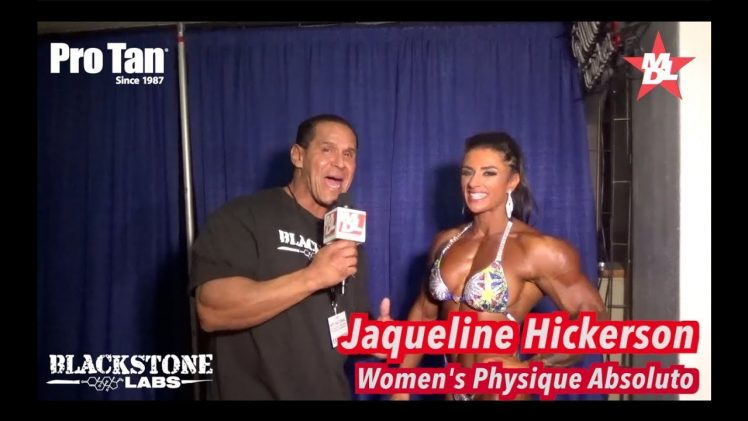Jacquelyn Hickerson – NPC Nationals 2017 Women's Overall Physique Champion