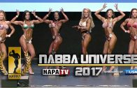 IFBB North American 2017 – Women's Figure Backstage