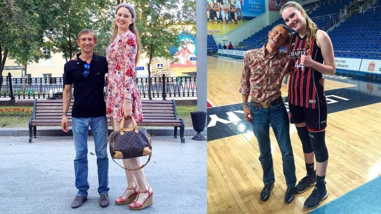"Raisa Musina – 193cm (6'4"") Tall Russian Basketball Player"