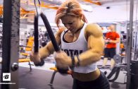 "Julia Vins – ""Muscle Barbie"" Workout"