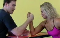 Brandi Mae – Mixed Arm-wrestling