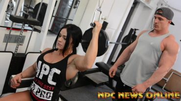 Ivana Ivusic – Back Workout For The Arnold Classic 2018