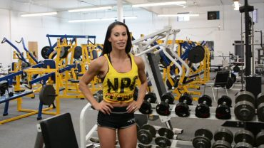 Romina Basualdo – Shoulder Workout / Prep For The Arnold Classic 2018
