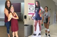 "Mckenzie Jacobson – 200cm (6'7"") Tall Volleyball Player"