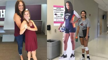 Montse Castro – 200cm (6'7″) Tall Volleyball Player From Mexico