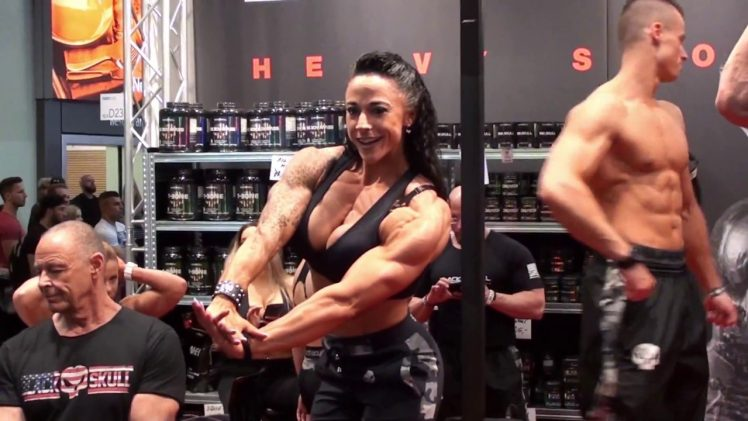 Girls At FIBO Power 2018
