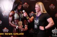 IFBB Figure Olympia 2017 Backstage