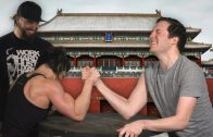 Dana Linn Bailey Arm Wrestles The Guys