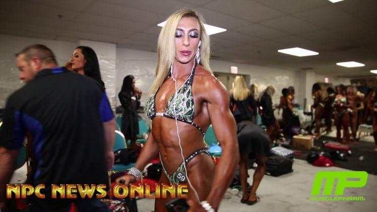 NPC Jr. Nationals 2018 – Women's Figure Backstage Pre-Judging