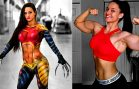 Renee Enos – Strong Cosplay Girl