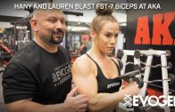 Lauren Findley – Full Back Workout