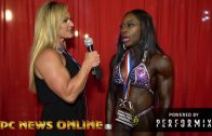 Cinderella Richardson – IFBB Tampa Pro 2018 Women's Masters Figure Over 40 Winner