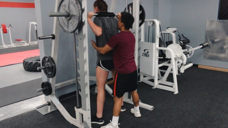 Going To The Gym With Your Tall Girlfriend