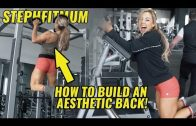 Stephanie Sanzo – Back & Shoulders Workout