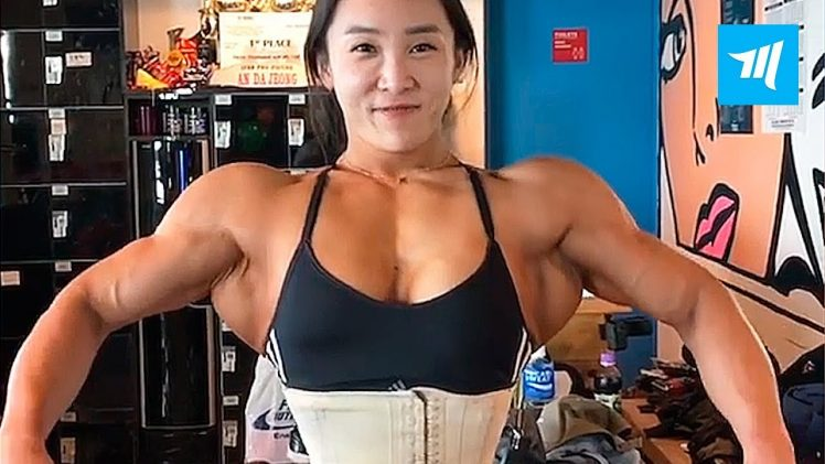An Da Jeong – Korean Female Bodybuilder