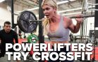 Brooke Ence Takes Powerlifters Through Crossfit Workout
