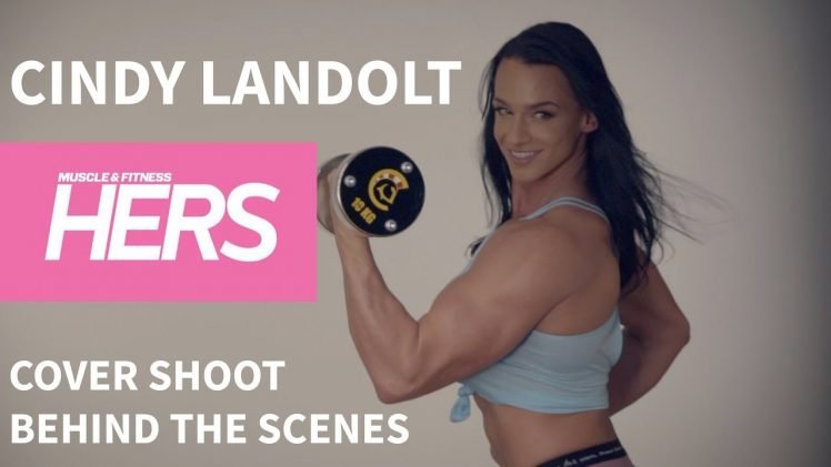 "Cindy Landolt – ""Muscle & Fitness Hers"" Behind The Scenes"