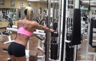 Rikki Smead In The Gym
