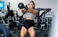 Stephanie Sanzo – High-Volume Glutes Workout