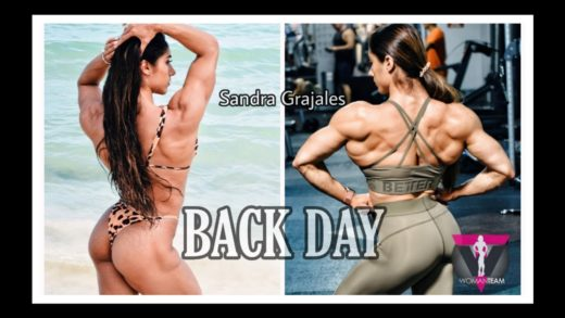 sandra grajales back workout 2