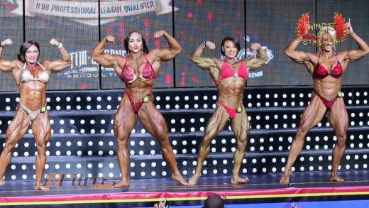 Romania Musclefest 2019 IFBB Pro WBB Pro Final Comparisons