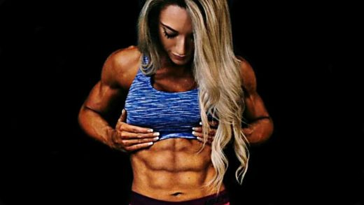 womens perfect abs