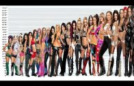 WWE Divas Height Comparison Chart