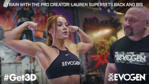lauren findley supersets back an