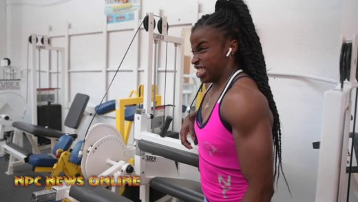 rhea gayle road to the arnold 20