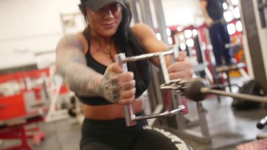 laura marie muscle bombshell bac