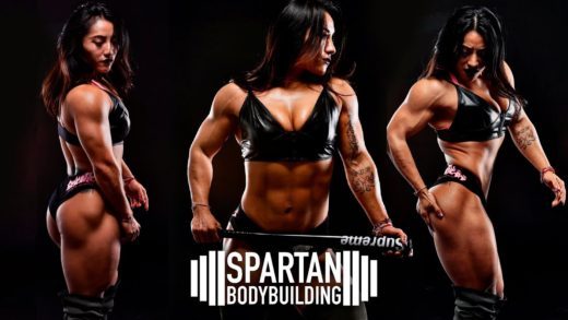 olivia bian spartan workout