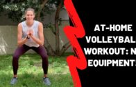 "Sarah Pavan (198cm / 6'6"") – Tall Volleyball Player Workout"