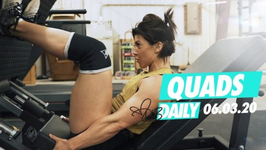 dana linn bailey quads workout