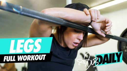 dana linn bailey legs workout