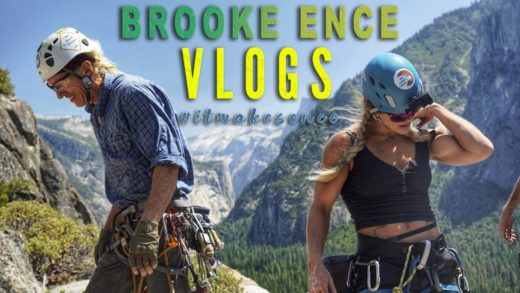brooke ence rock climbing in yos