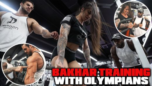 bakhar nabieva intense back work