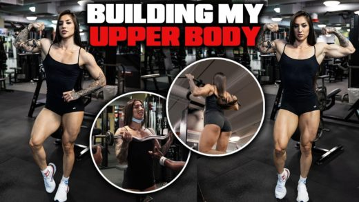 bakhar nabieva upper body workou