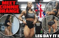 Connie Orange – Crazy Leg Day