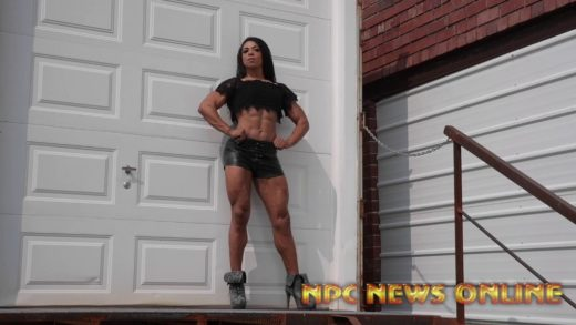 ifbb pro jada beverly behind the